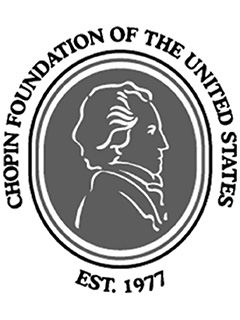 Logo for the Chopin Foundation of the United States
