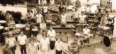 UM Percussion Ensemble, 1970