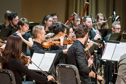 Frost School of Music's Henry Mancini Institute Orchestra